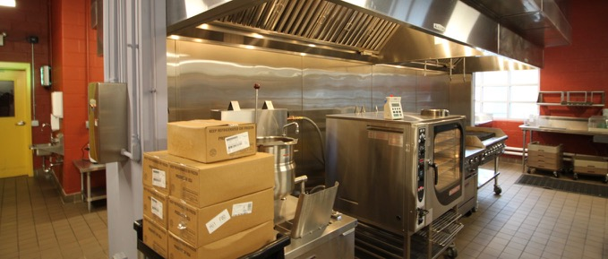 GEDC multi room kitchen facility